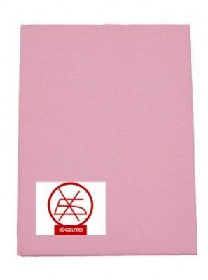 Gumis lepedő rózsaszín 60x120 és 70x140 (vasalás könnyített)