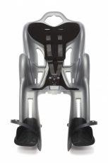 Bellelli B-One Clamp bicikliülés 22 kg-ig silver színben