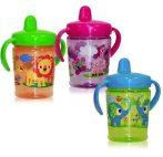 Baby Care ivócsőrös itatópohár fogantyúval ZOO