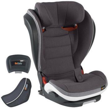 BeSafe iZi Flex FIX i-Size Midnight Black Mélange ISOFIX-es biztonsági autósülés + Ajándék