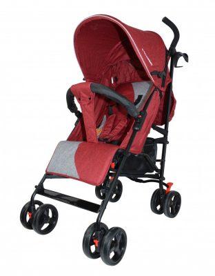 Mama Kiddies Mignon full extrás esernyőre csukható sport babakocsi piros színben + Ajándék