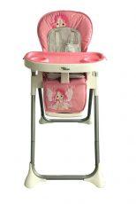 MamaKiddies ProComfort NewLine rózsaszín angyalka mintás multifunkciós etetőszék + Ajándék