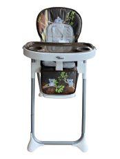 Mama Kiddies ProComfort NewLine barna koala mintás multifunkciós etetőszék + Ajándék