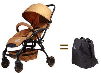 Mama Kiddies TravelStar Extra GoldEdition színben kiegészítőkkel + Ajándék hátizsákkal