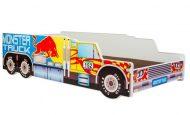 Mama Kiddies 160x80-as gyerekágy Monster Truck dizájnnal - matraccal
