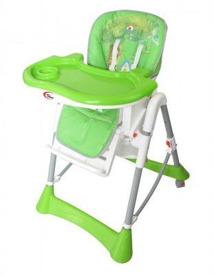 Mama Kiddies Star zöld erdei mintás multifunkciós etetőszék + Ajándék