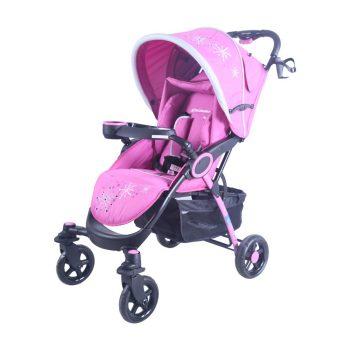 Mama Kiddies Light4 Go Sport babakocsi pink színben + Lábzsák + Ajándék