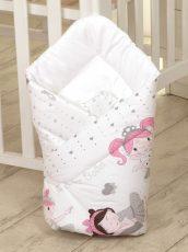 MamaKiddies Baby Bear pólya fehér színben balett mintával
