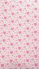 Mama Kiddies Baby Bear 2 részes ovis ágyneműhuzat szivecskés mintával pink színben