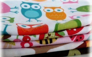 1 db Minőségi mintás textilpelenka (több minta)