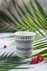 Ethnic Festive bambusz bögre