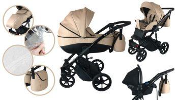 Mama Kiddies Monaco 3az1-ben multifunkciós babakocsi + ajándék