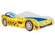 Mama Kiddies 160x80-as gyerekágy Taxi dizájnnal - matraccal