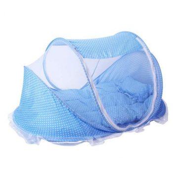 Mama Kiddies utazó babaágy kék színben