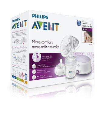 Philips Avent Natural elektromos mellszívó + tartozékok 0% BPA