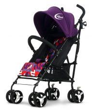 MamaKiddies Mignon full extrás esernyőre csukható sport babakocsi lila színben + Ajándék