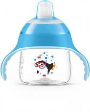 Philips Avent Prémium itatópohár itatófejjel 6+  200 ml kék