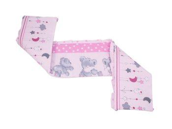 MamaKiddies Sofie Dreams 180°-os rózsaszín rácsvédő macis mintával -  Babakocsik bba196fdfb