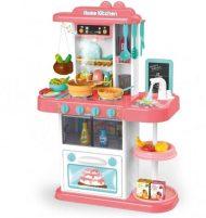 43 részes Mama Kiddies KitchenStar babakonyha szett pink színben