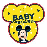 Baby on board jelzés - Mickey