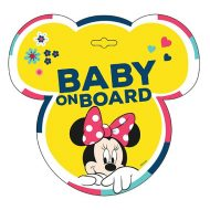 Baby on board jelzés - Minnie