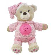 Pink plüssmaci kivetítővel a Baby Mix-től