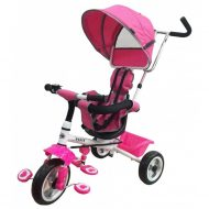 Baby Mix Rapid prémium tricikli pink színben