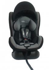 MamaKiddies Baby autósülés (0-18 kg) szürke színben ajándék napvédővel