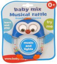 Baby Mix zenélő és világító pingvines csörgő