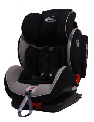 ISOFIX  Mama Kiddies Angel Wings (9-36 Kg) autósülés protektorral fekete