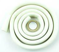 Habszalag élvédő 3,3x0,8x200 cm fehér