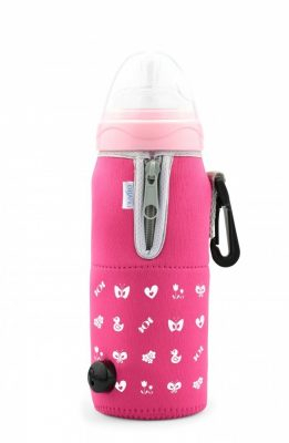 Nuvita autós cumisüveg melegítő - Pink