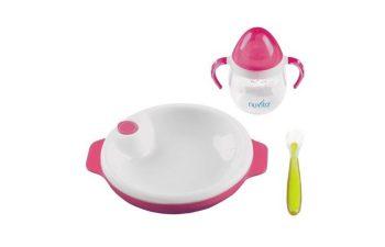 Nuvita első étkészlet - Pink