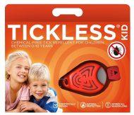 Tickless Ultrahangos kullancsriasztó KID narancs