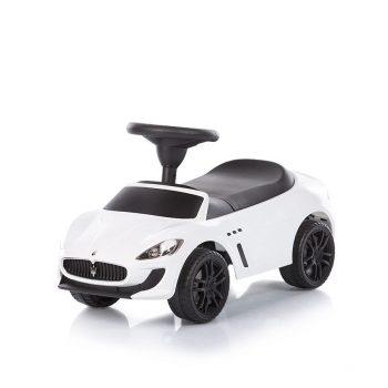 Chipolino Maserati Gran Cabrio MC bébitaxi - fehér színben