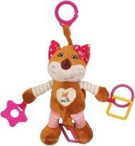 Baby Mix vibráló róka rágókával pink színben