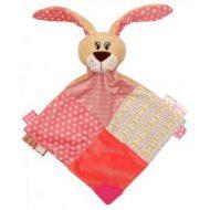 Pink nyuszis kendőcske a Baby Mixtől
