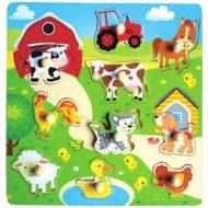 Nagy farmos fa puzzle