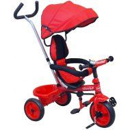 Baby Mix Ecotrike gyermek tricikli piros színben