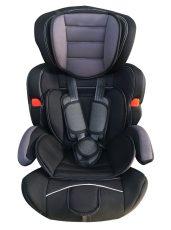 Mama Kiddies Turbo autósülés (9-36 kg) szürke-fekete színben