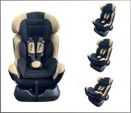 Mama Kiddies Safety Star autósülés (0-25 kg) bézs színben