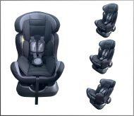 MamaKiddies Safety Star autósülés (0-25 kg) ezüst-fekete színben
