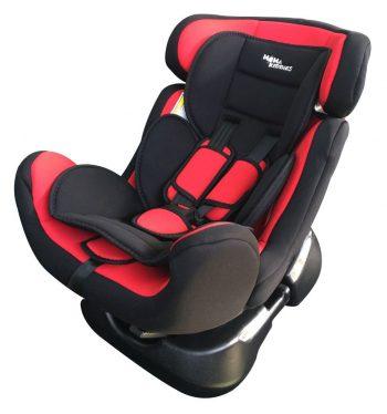 MamaKiddies Safety Star autósülés (0-25 kg) piros-fekete színben