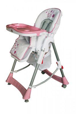 Mama Kiddies ProComfort rózsaszín multifunkciós etetőszék + Ajándék