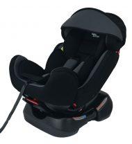 Mama Kiddies Safety Plus autósülés (0-25 kg) ezüst-fekete színben ajándék napvédővel